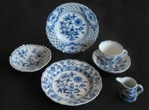 Blue Onion Pattern