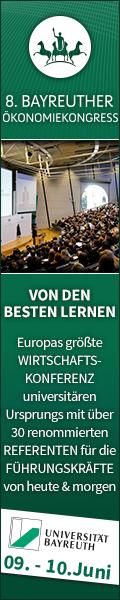 8. Bayreuther Ökonomiekongress