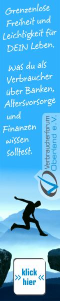 Verbraucherforum Oberland e.V. - Was Du als Verbraucher über Banken, Altersvorsoge, Finanzen etc. wissen solltest.