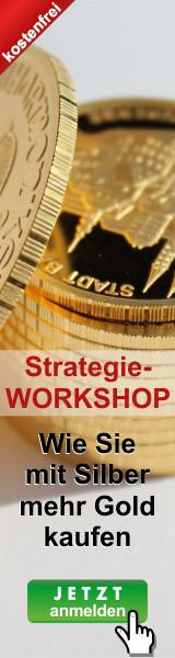 Die Gold-Siber-Ratio Strategie: Wie Sie mit Silber mehr Gold kaufen - ohne Zusatzinvest.