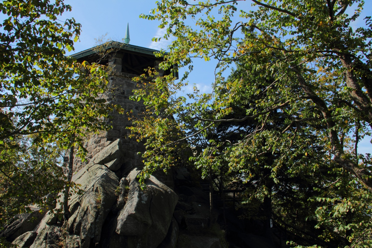 Kösseine Turm - Kösseine im Fichtelgebirge